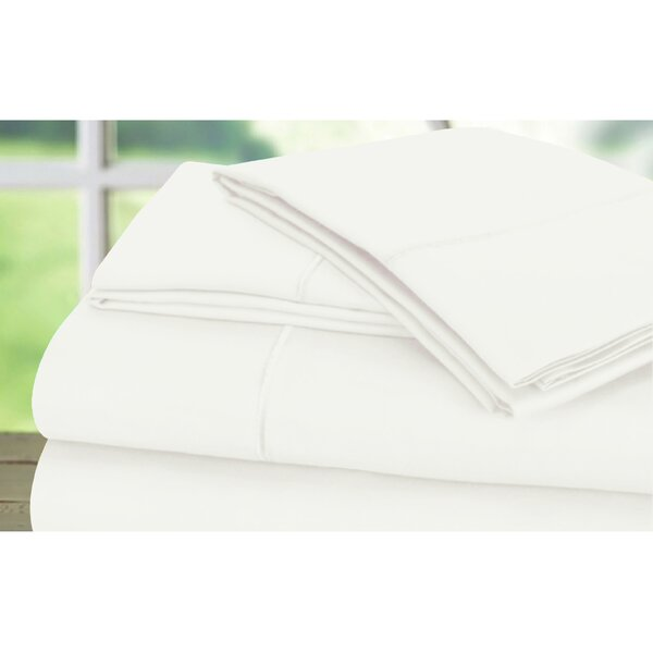 Sunnie 600 Thread Count 100% Cotton Sheet Set by Darby Home Co